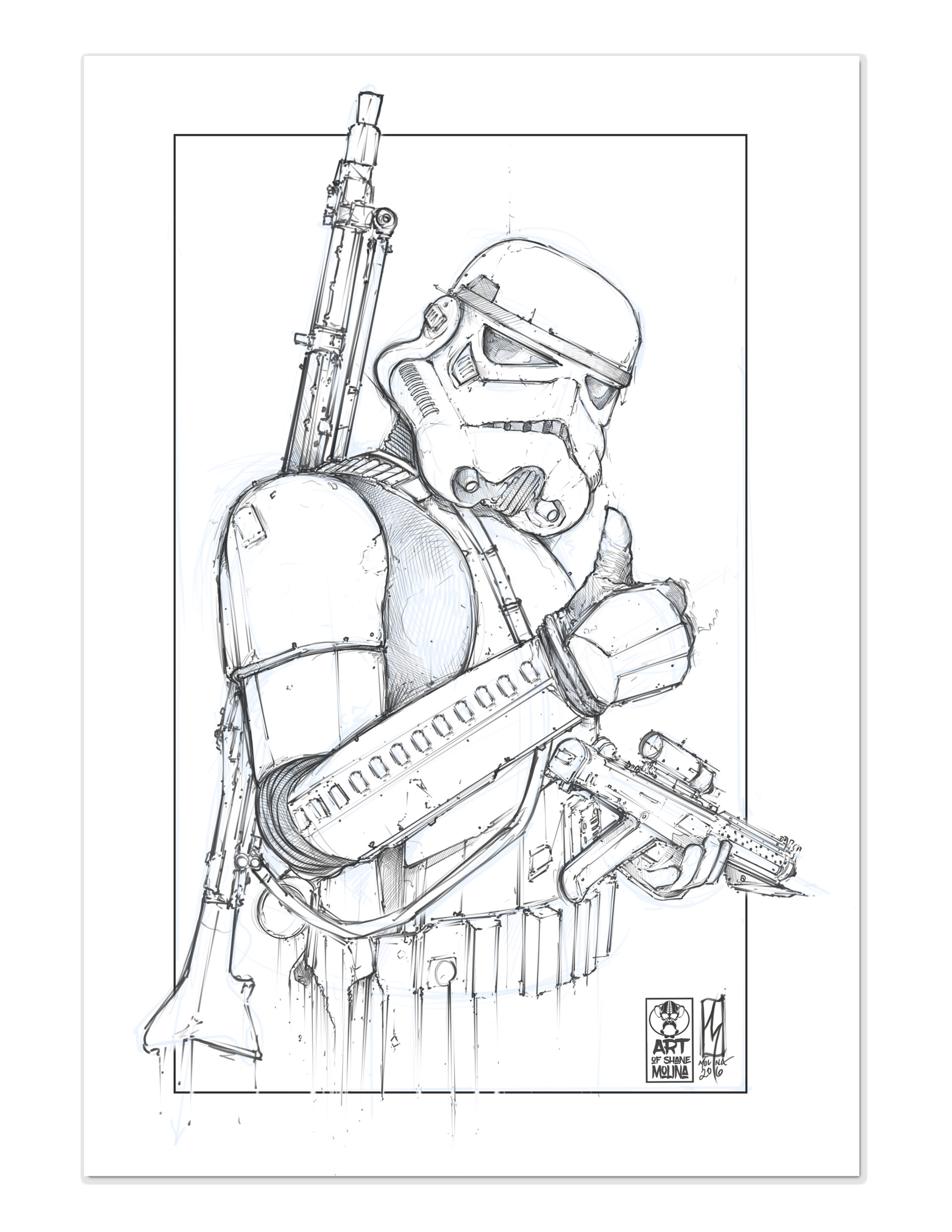 Shane molina 4k stormtrooper printoff 2