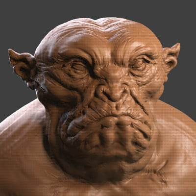 speed sculpt study  based on concept by Aris Kolokontes