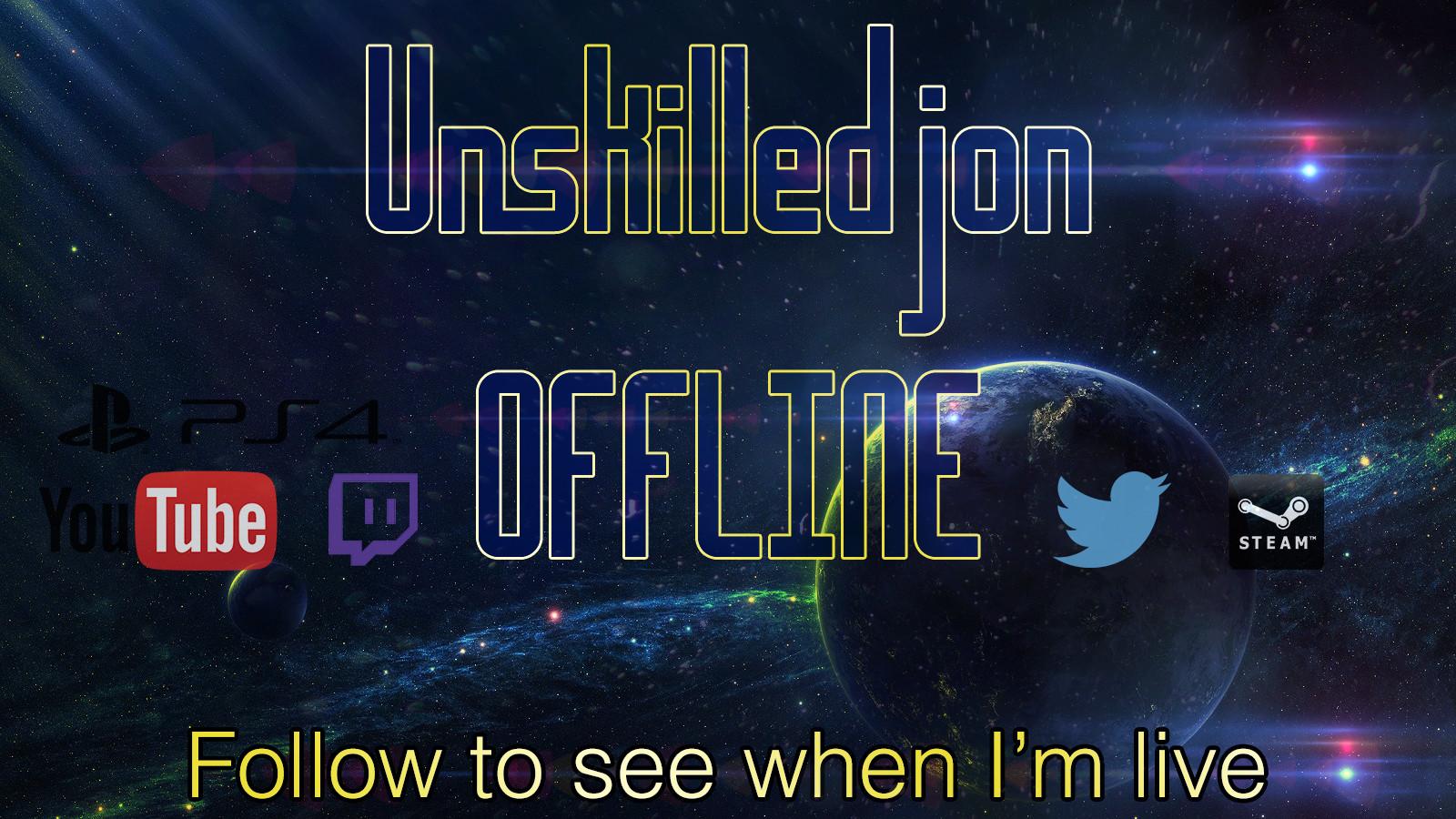Joe cove offline banner unskilledjon 2