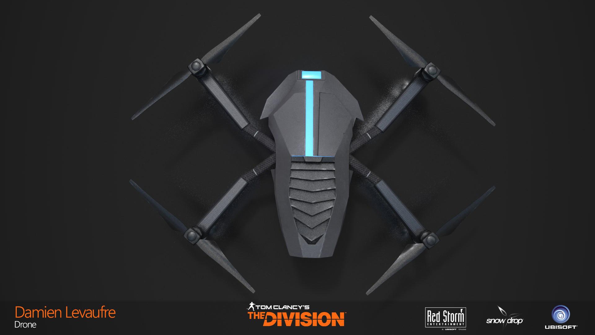 Damien levaufre drone top