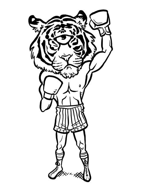 Steve rampton tiger eye small by b1naryg0d da22g72