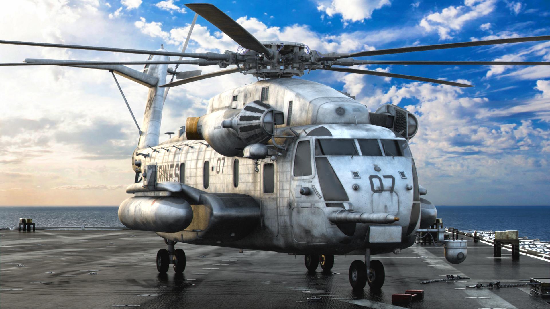 Nark Sese Sikorsky Ch 53 E Sea Stallion