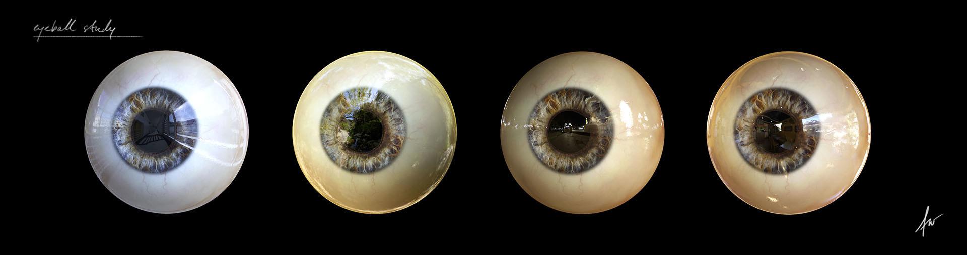 Felix wolf eyeballs