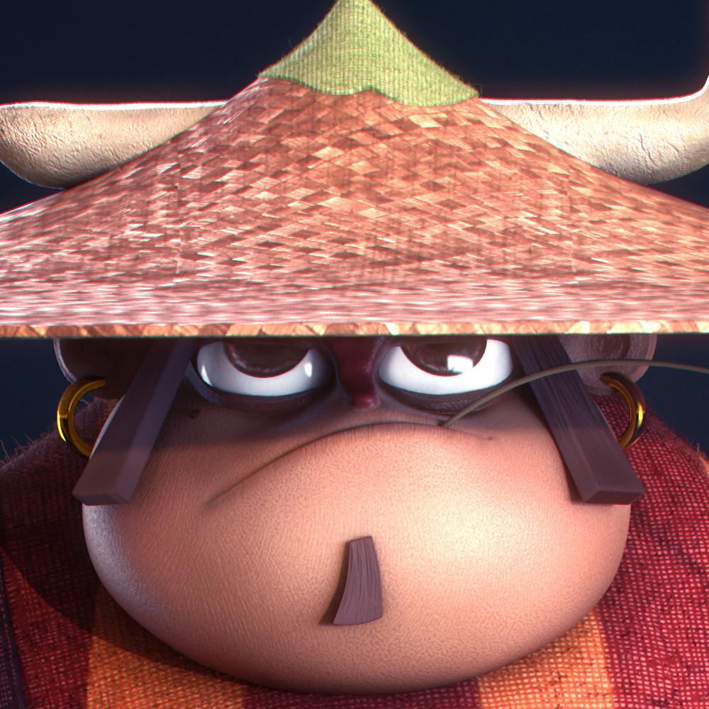 Fabio wasques samurai head