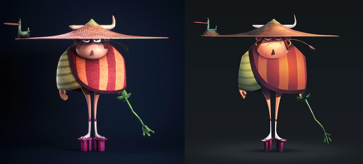 Fabio wasques samurai concept