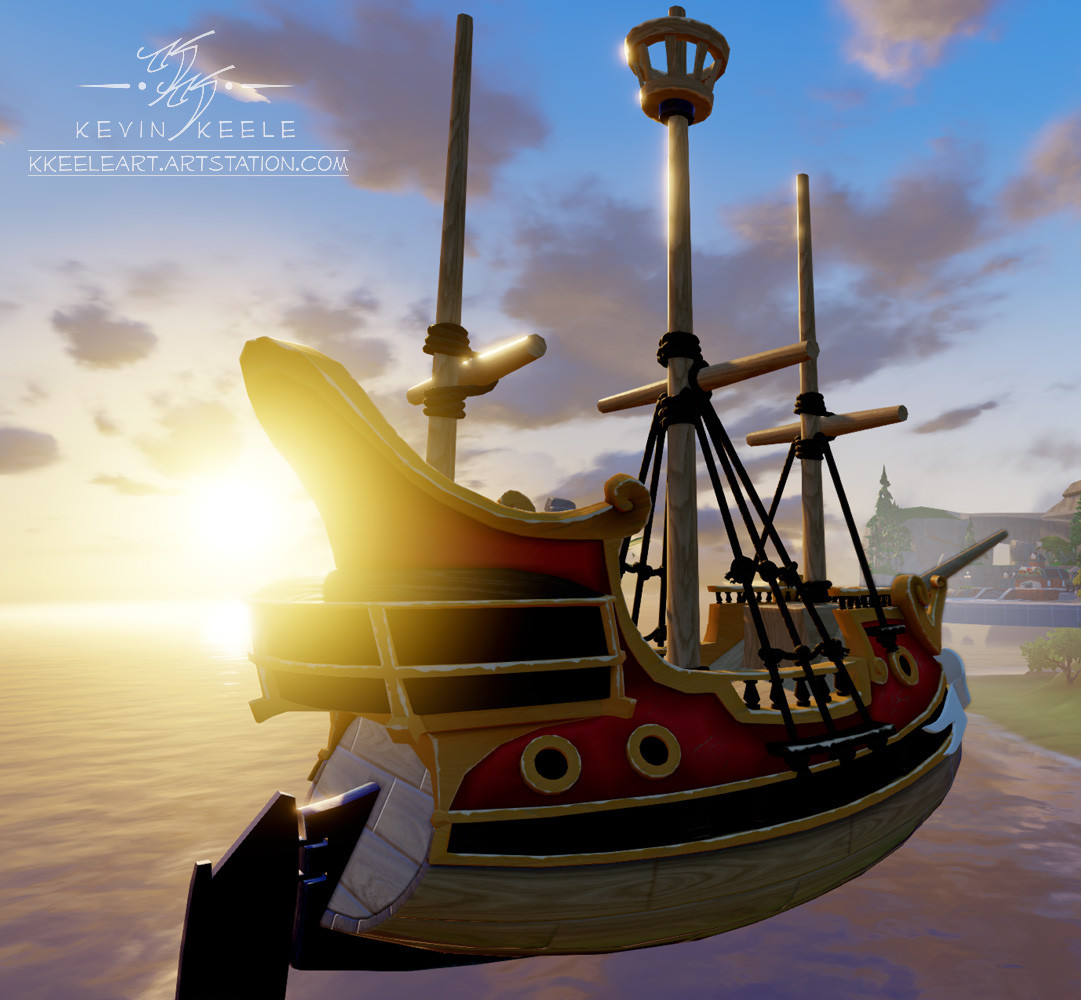 Kevin keele pirateship 2