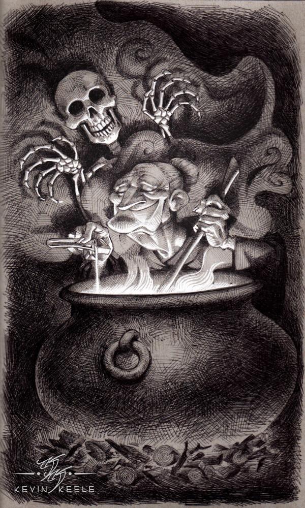 Kevin keele witchandskeleton