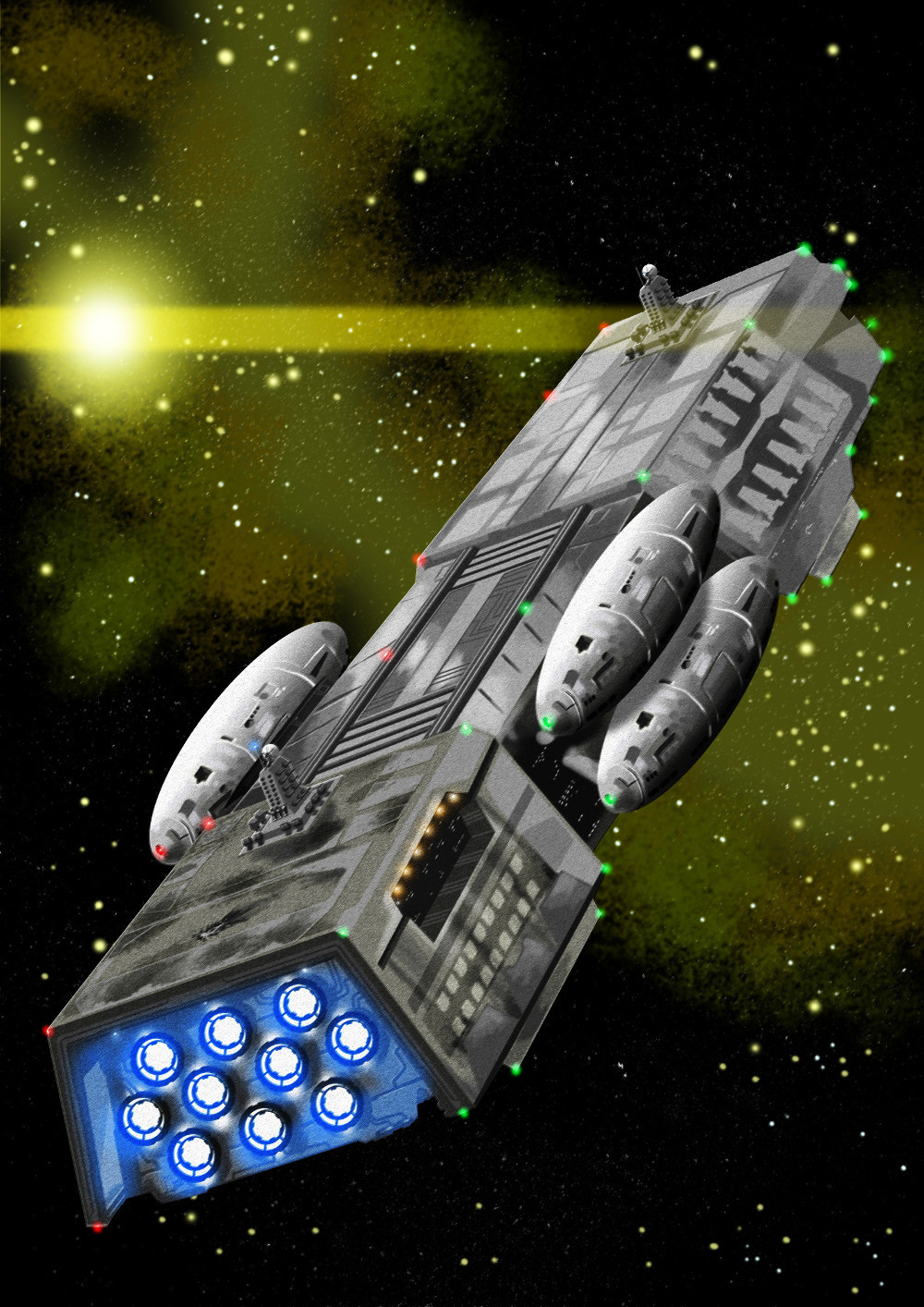 Deep Space Squadron cover
