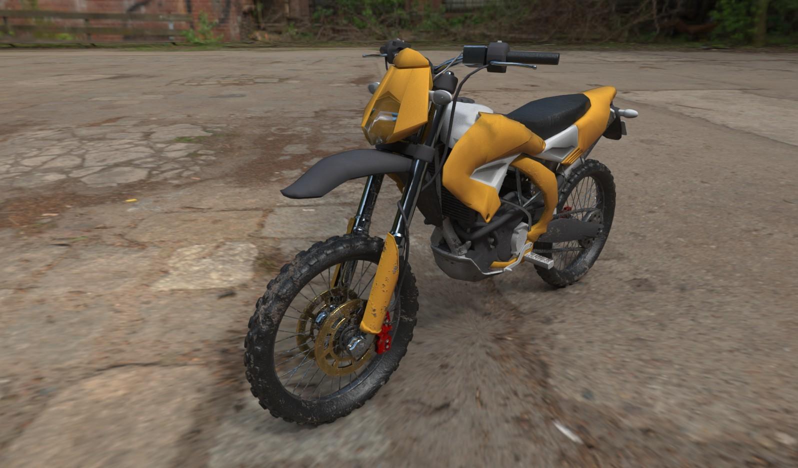 Alex meister motorbike