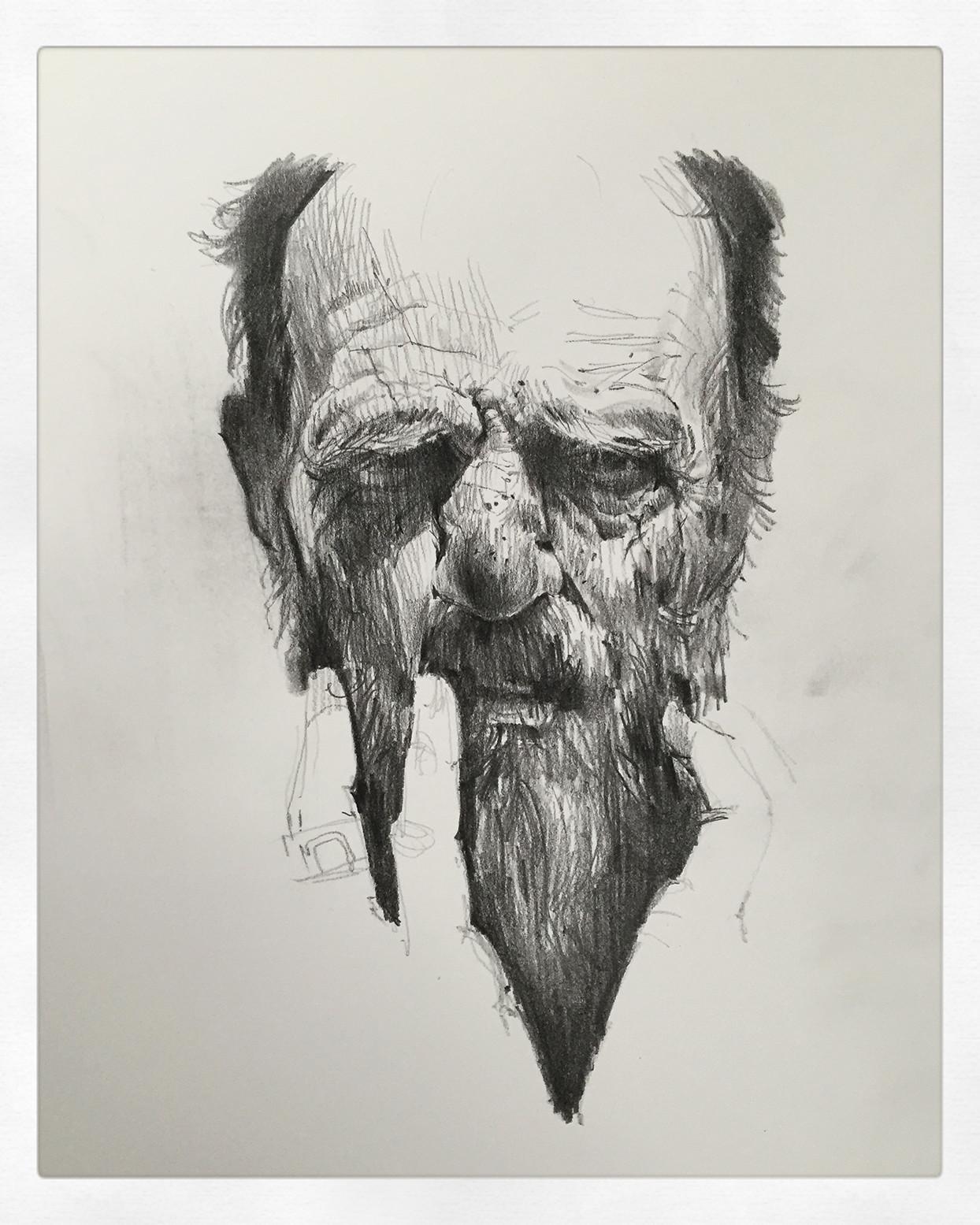 Andrei riabovitchev head study