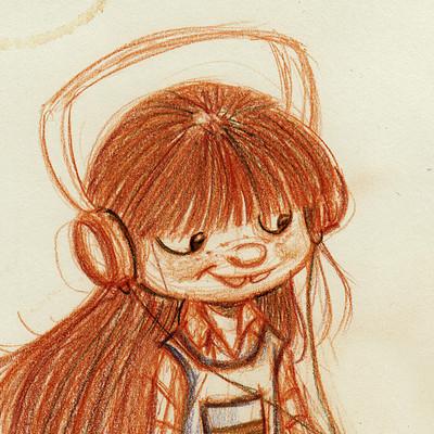 Vipin jacob headphones girl