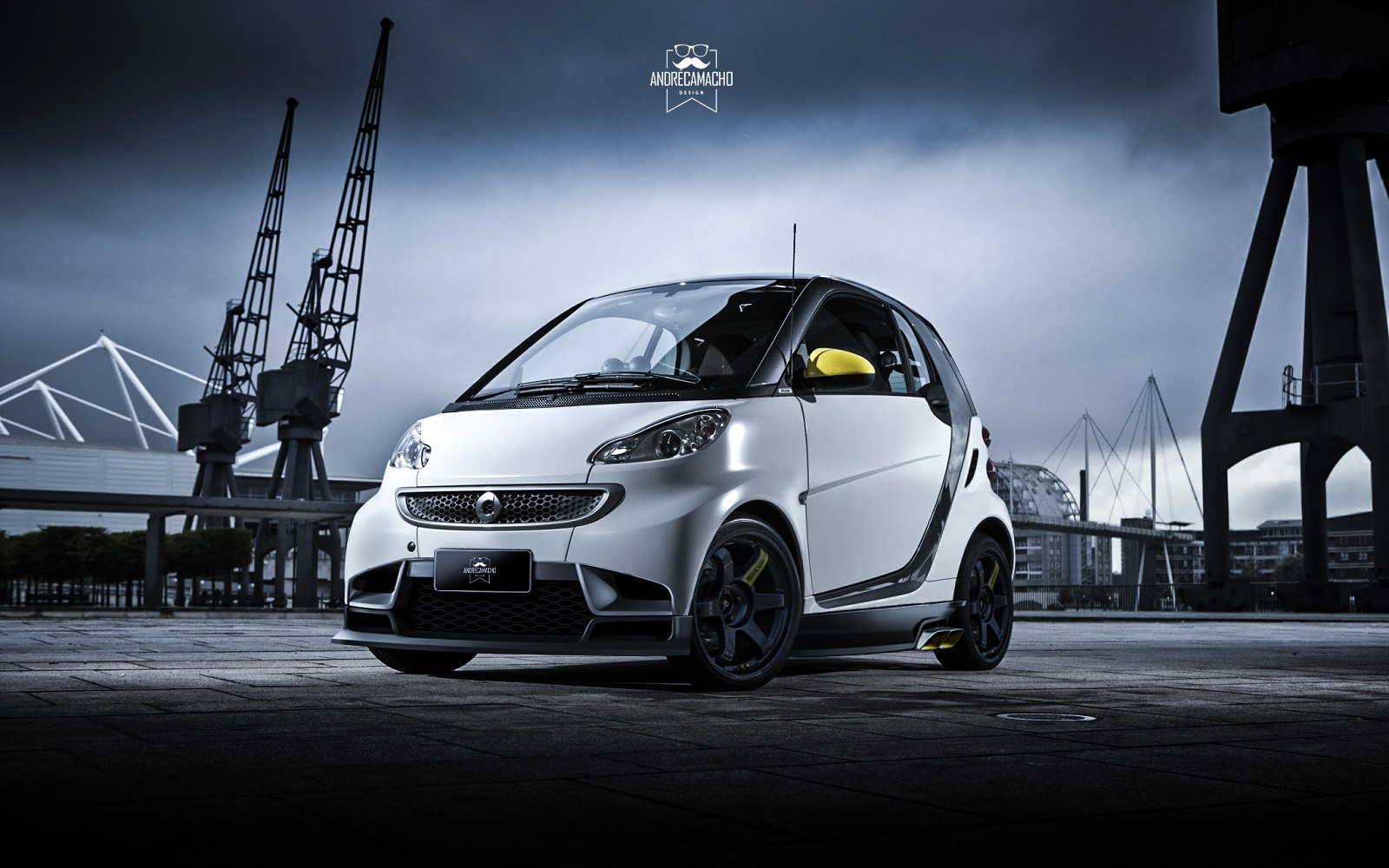 Andre camacho design smart car wallpaper2