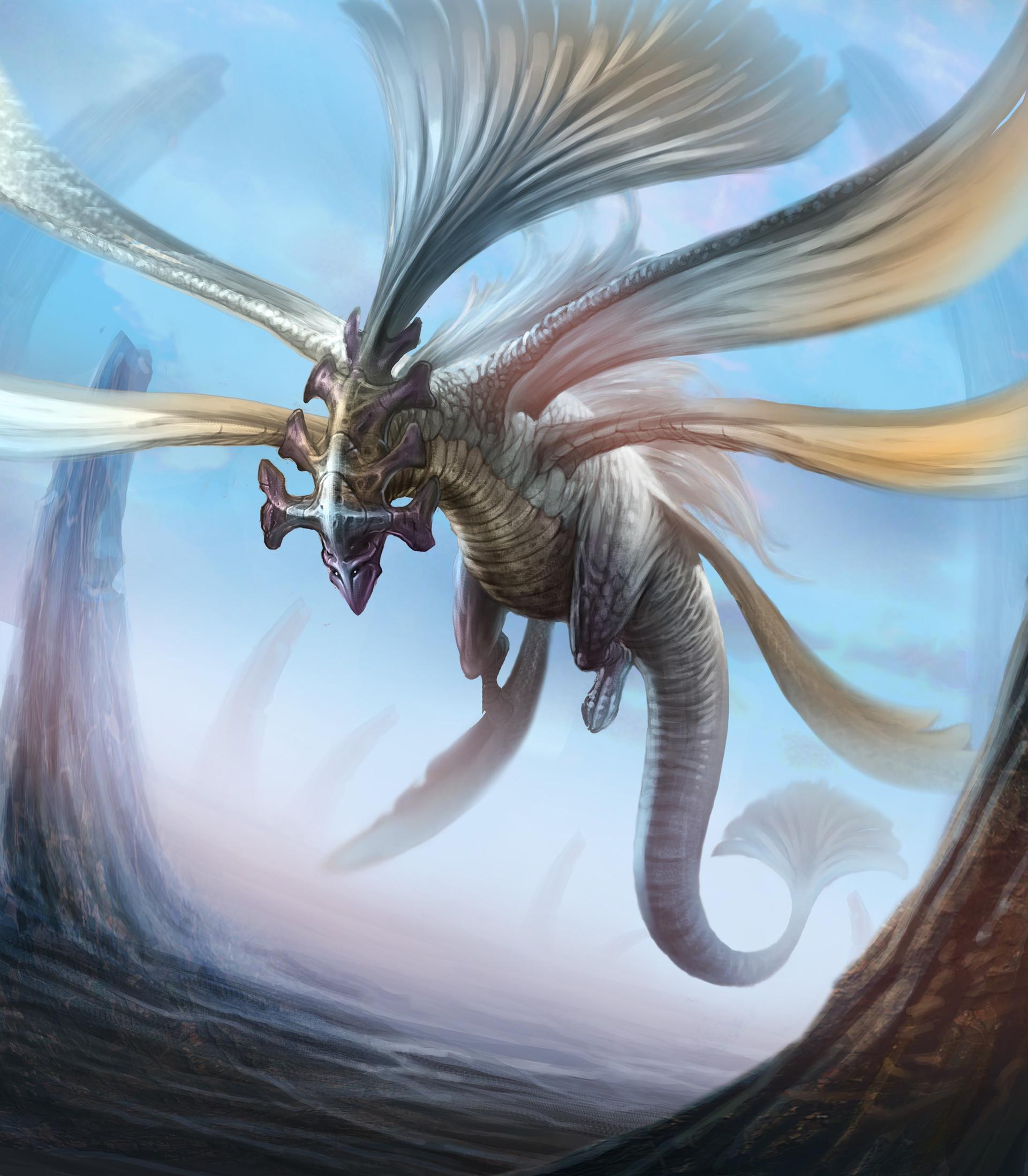 Chalmer relatorre giant wind creature