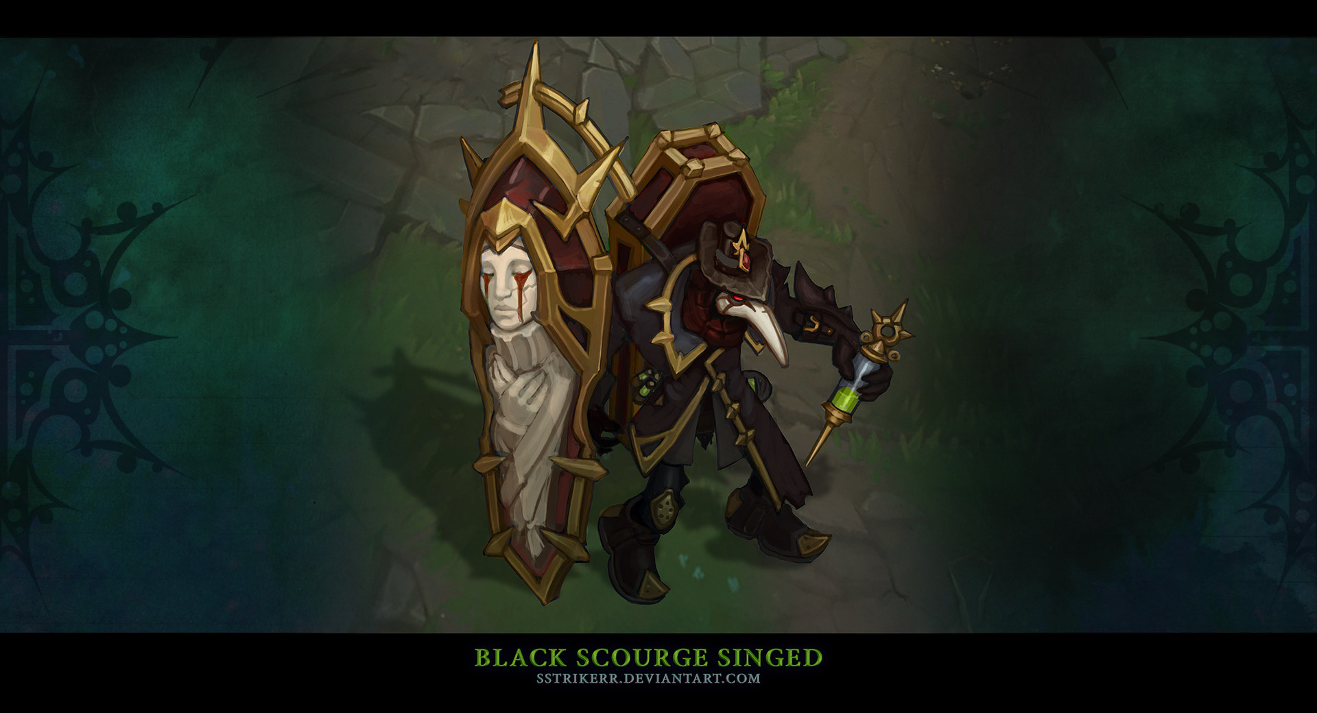 Black Scourge Singed - LeagueSales