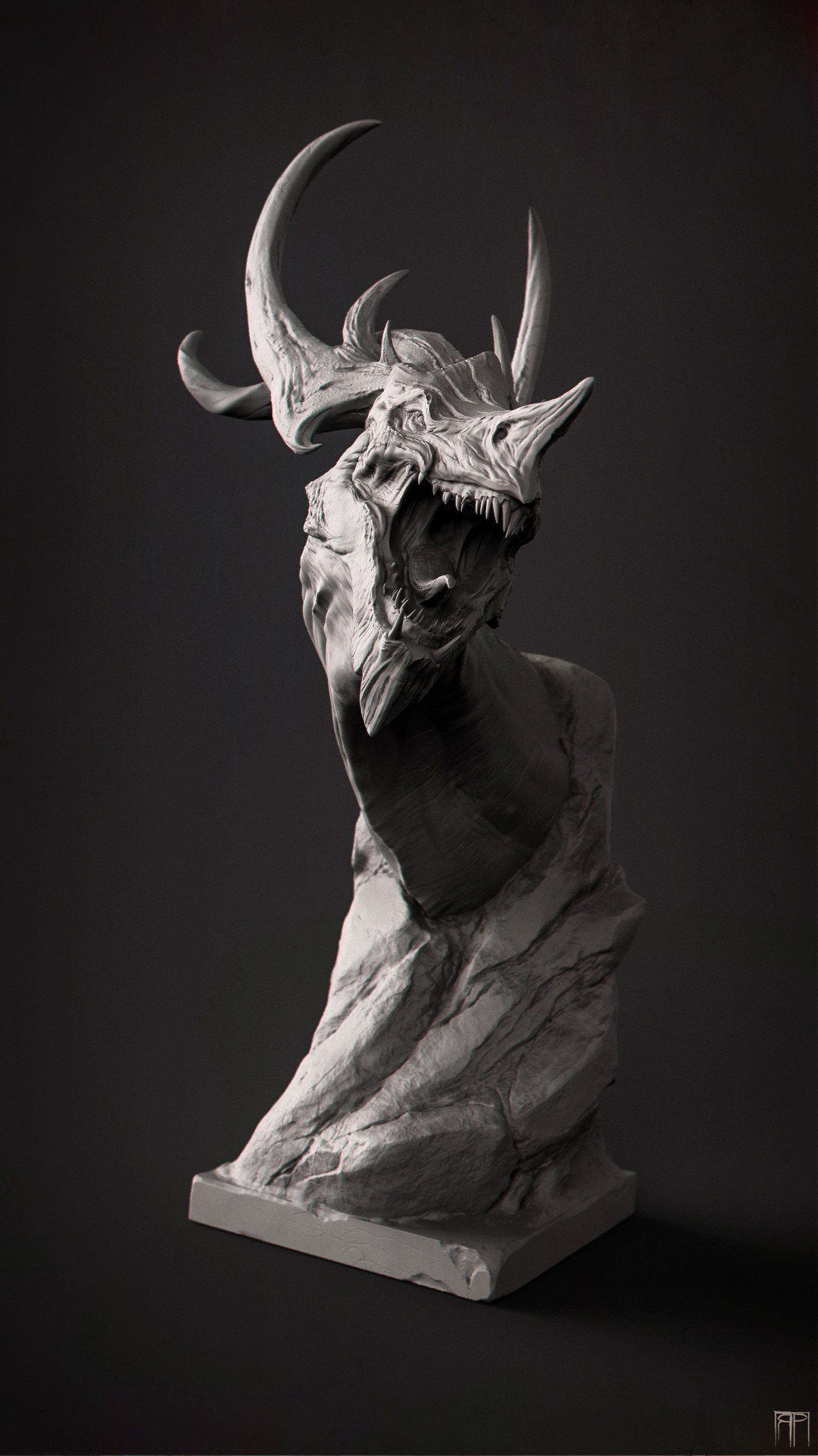 Romain pommier dragon head 3