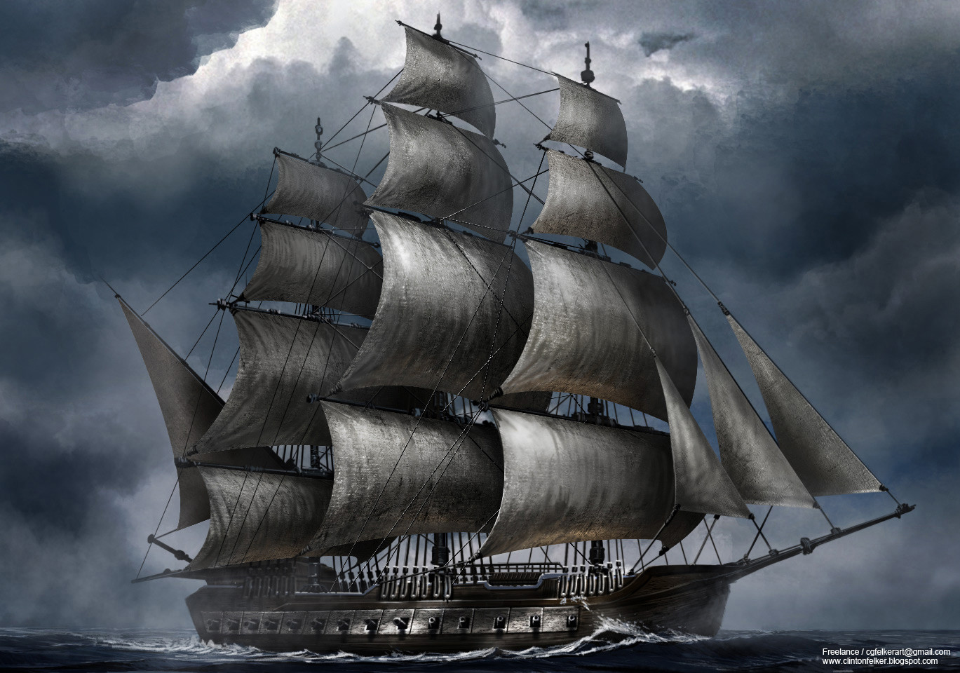 Bataille navale Clinton-felker-ship-frigate-pirate-full