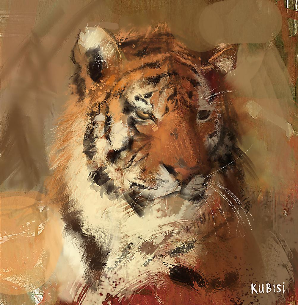 Abdelrahman kubisi tiger by kubisi d63xlhr