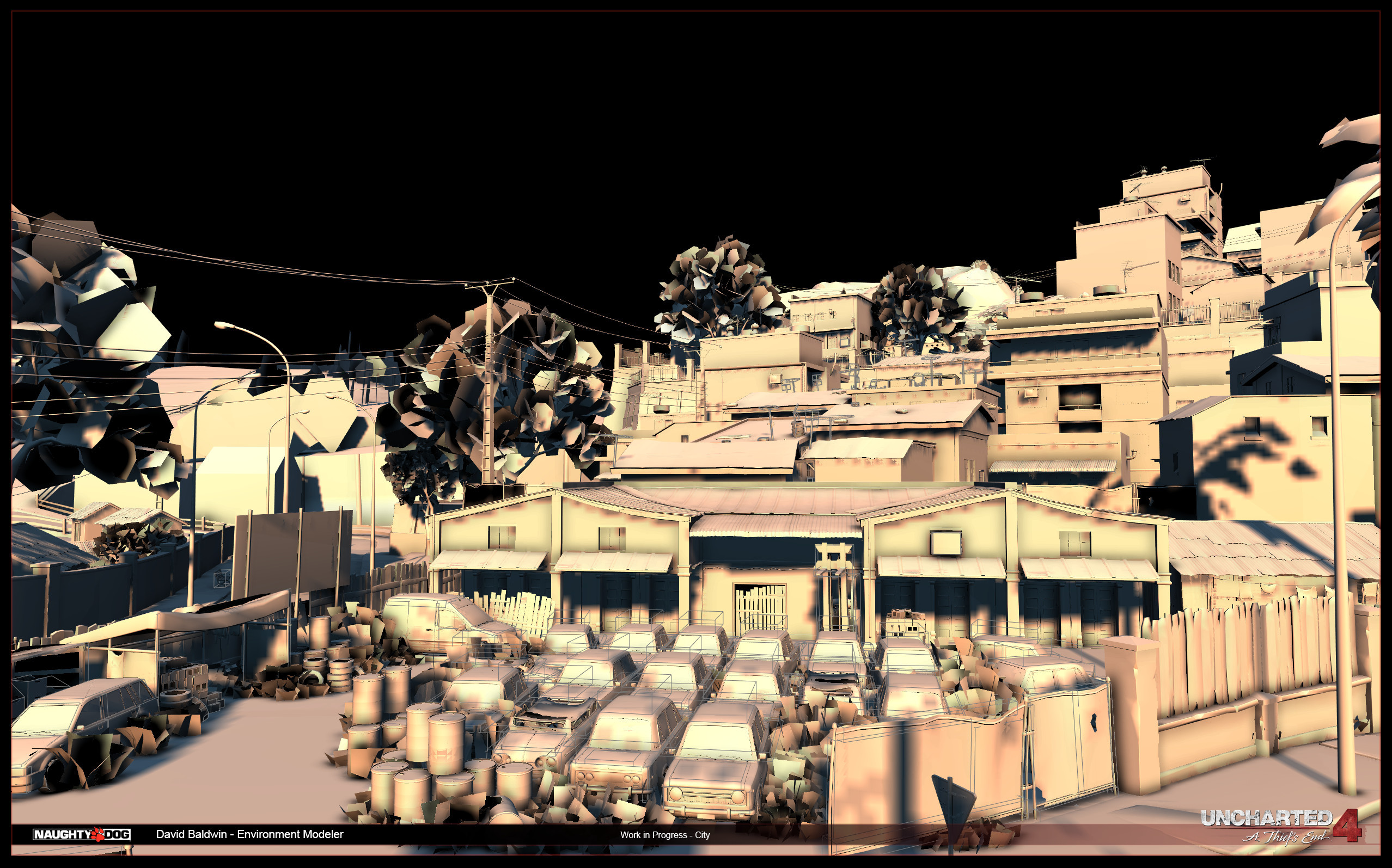 Madagascar City - WIP - Art