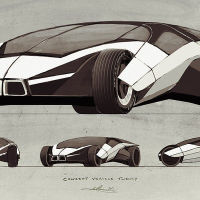 Aaron luke wilson concept vehicle twenty by aaronlukewilson d729clz