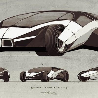 Aaron luke wilson concept vehicle twenty by aaronlukewilson d729clz