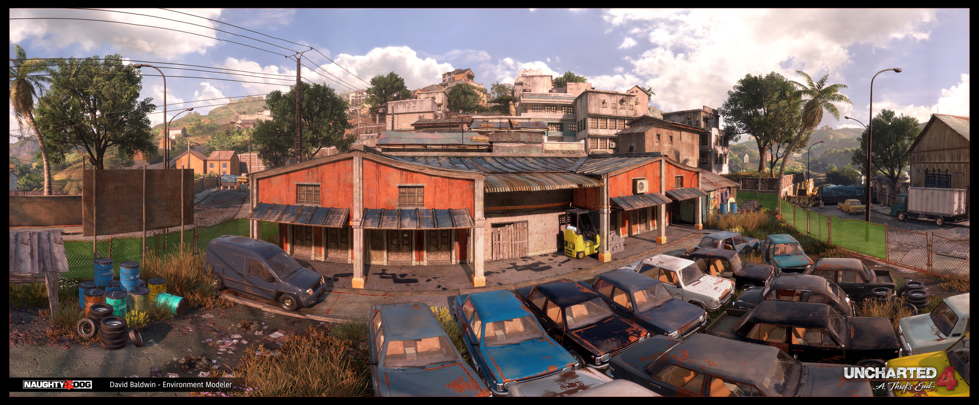 Madagascar City - Junkyard