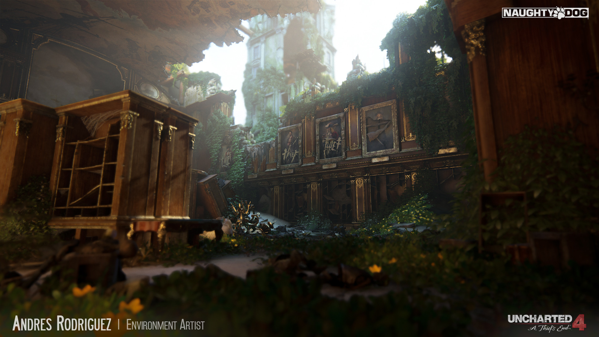 Scroll To See More Andres Rodriguez Environment Artist Jpg 1920x1080 Treasury Uncharted Game Art Pretty