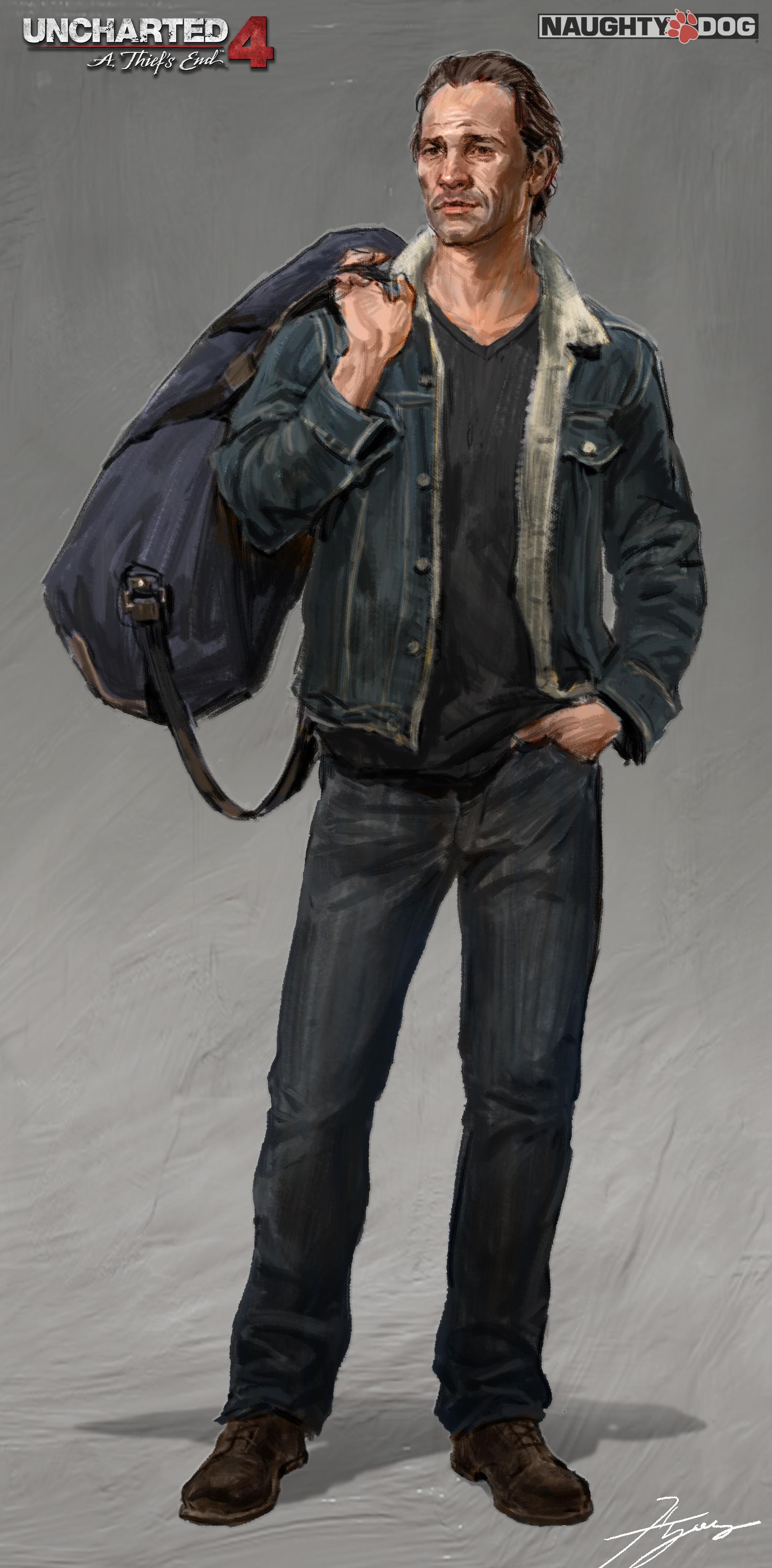 ArtStation - Uncharted 4: Sam Return, Hyoung Nam