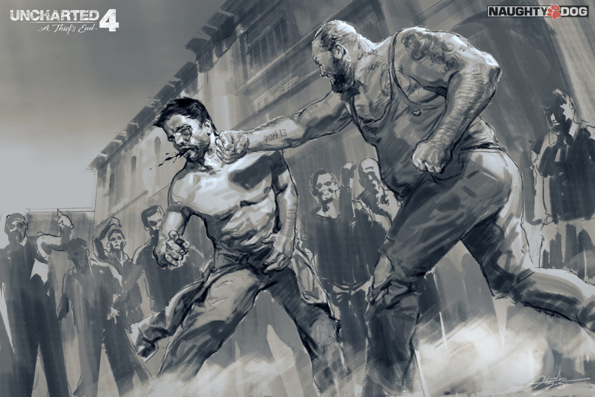 Hyoung nam sketch prisonfight 01