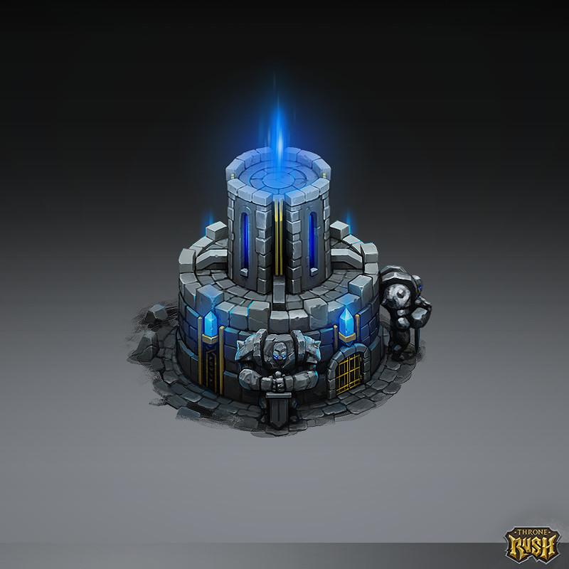 Isometric Temple