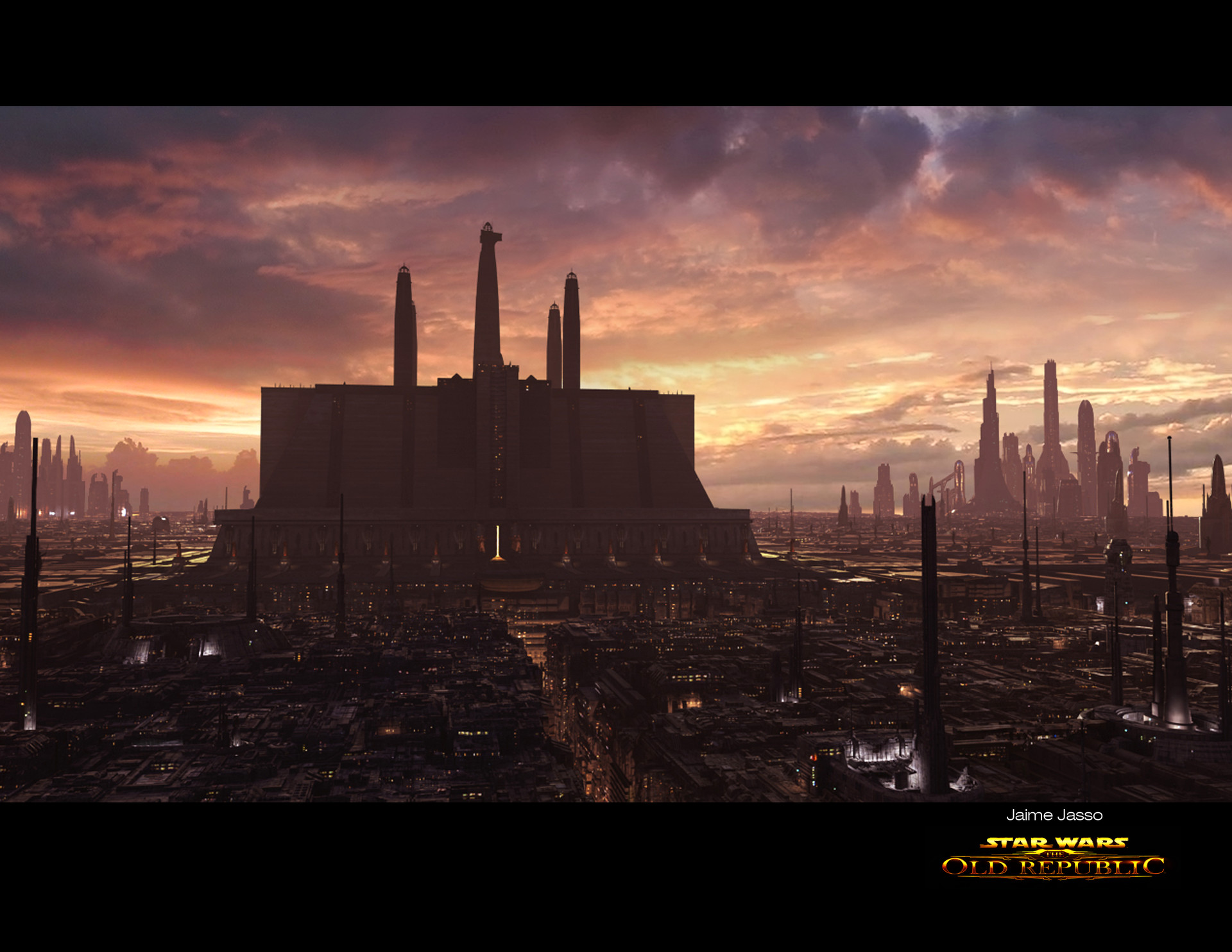 Jaime Jasso 2d And 3d Matte Paintings For Star Wars Old