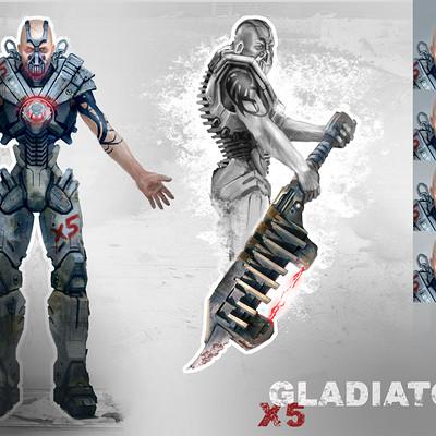 Julian vidales gladiator