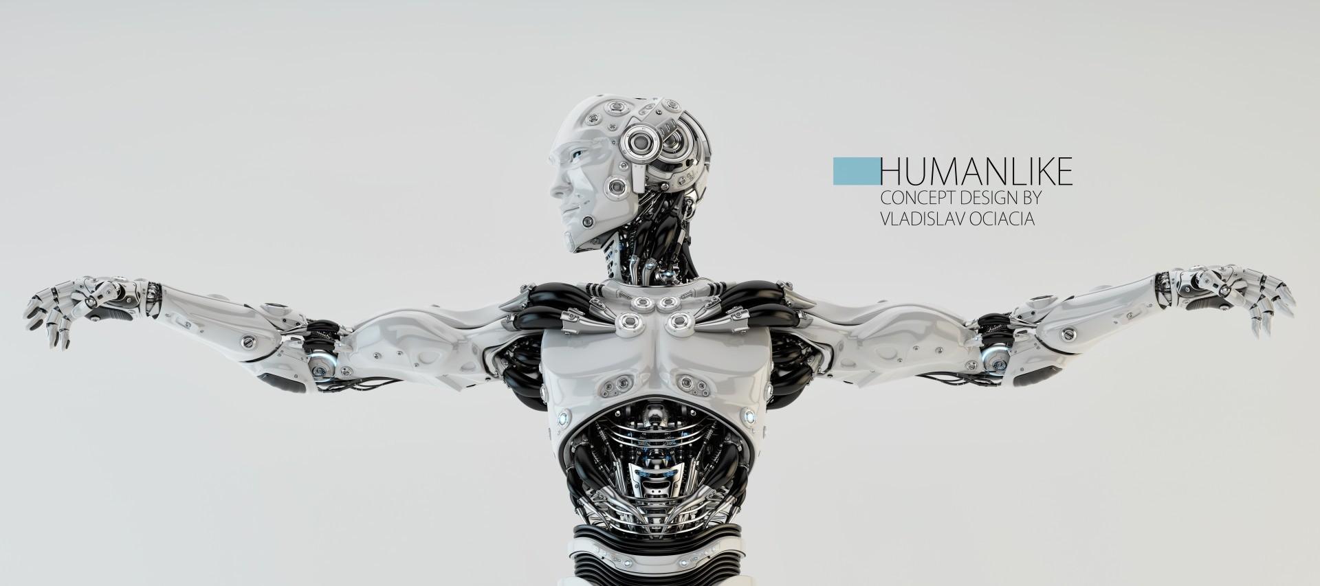 Vladislav ociacia robot humanlike 2