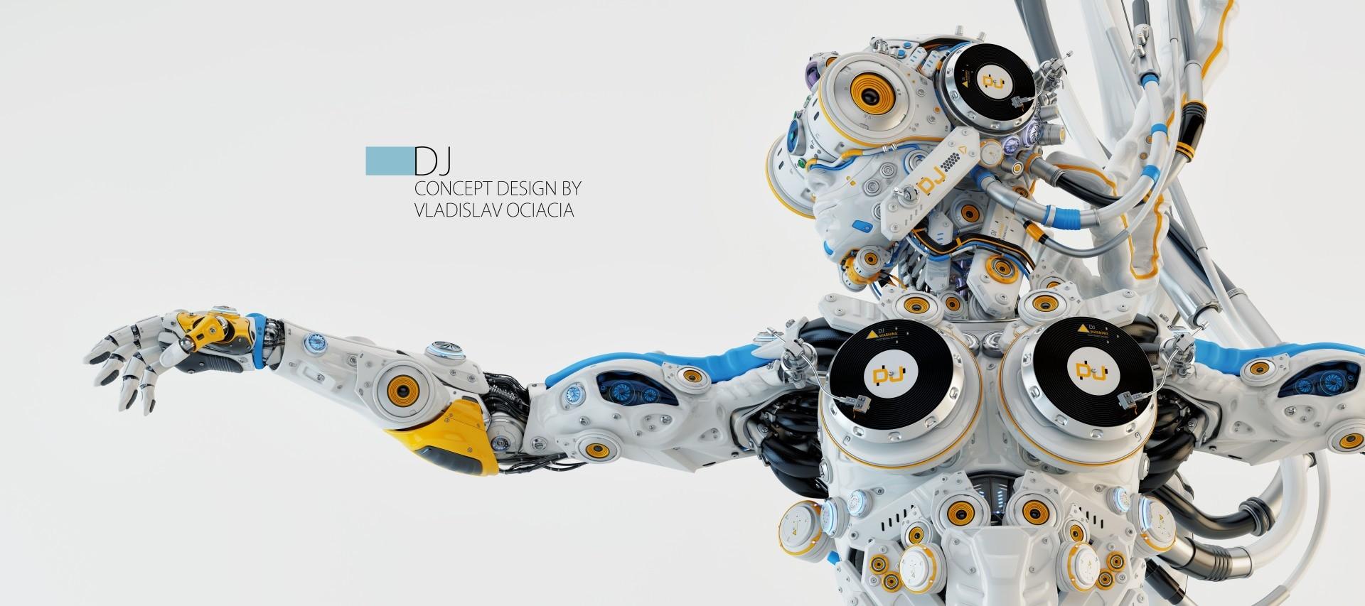 Vladislav ociacia robot dj 3