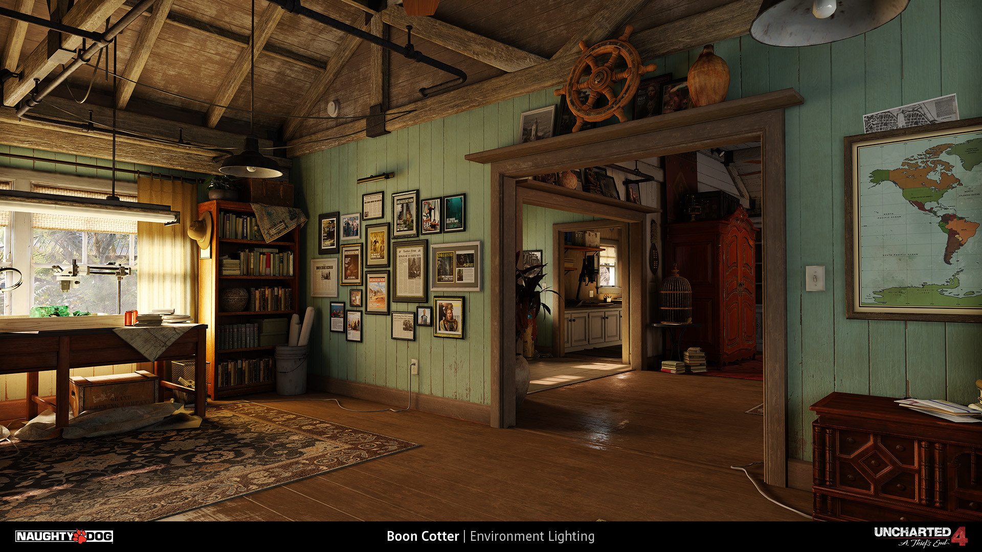 Boon cotter uncharted 4 a thief 39 s end for Beach house design games