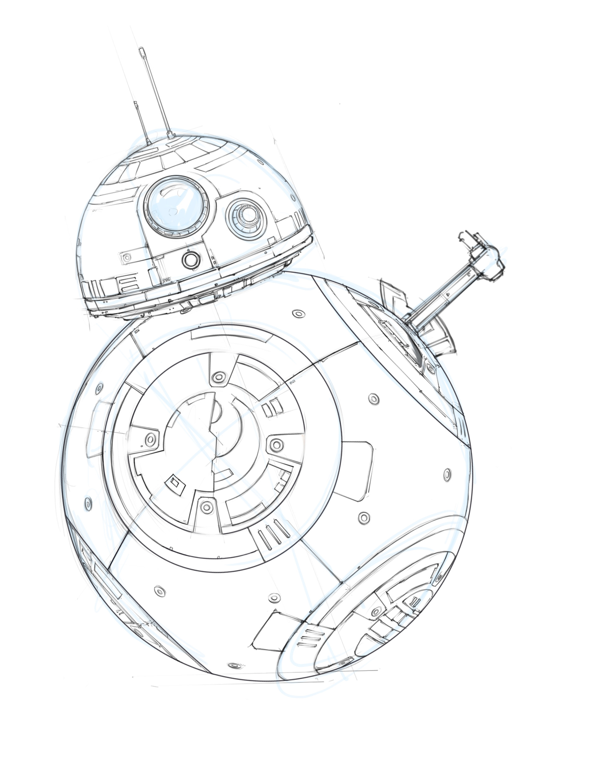 Shane molina bb 8 driod sketch