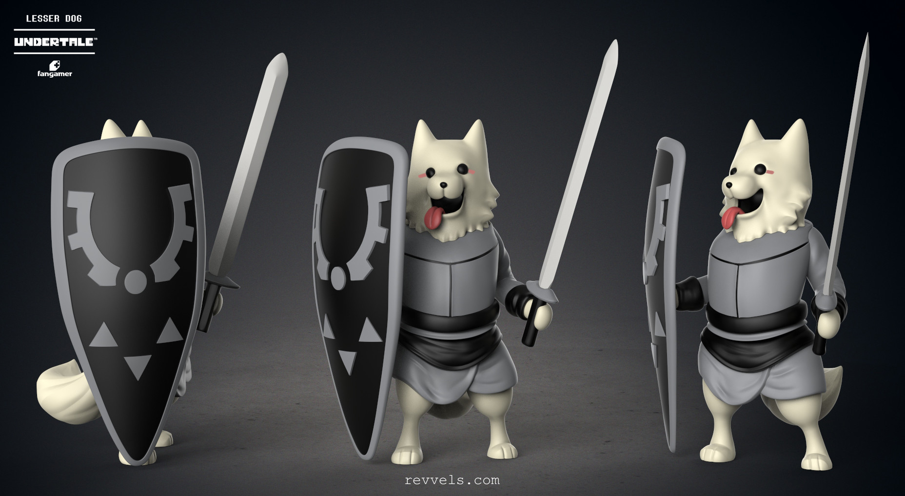 undertale lesser dog