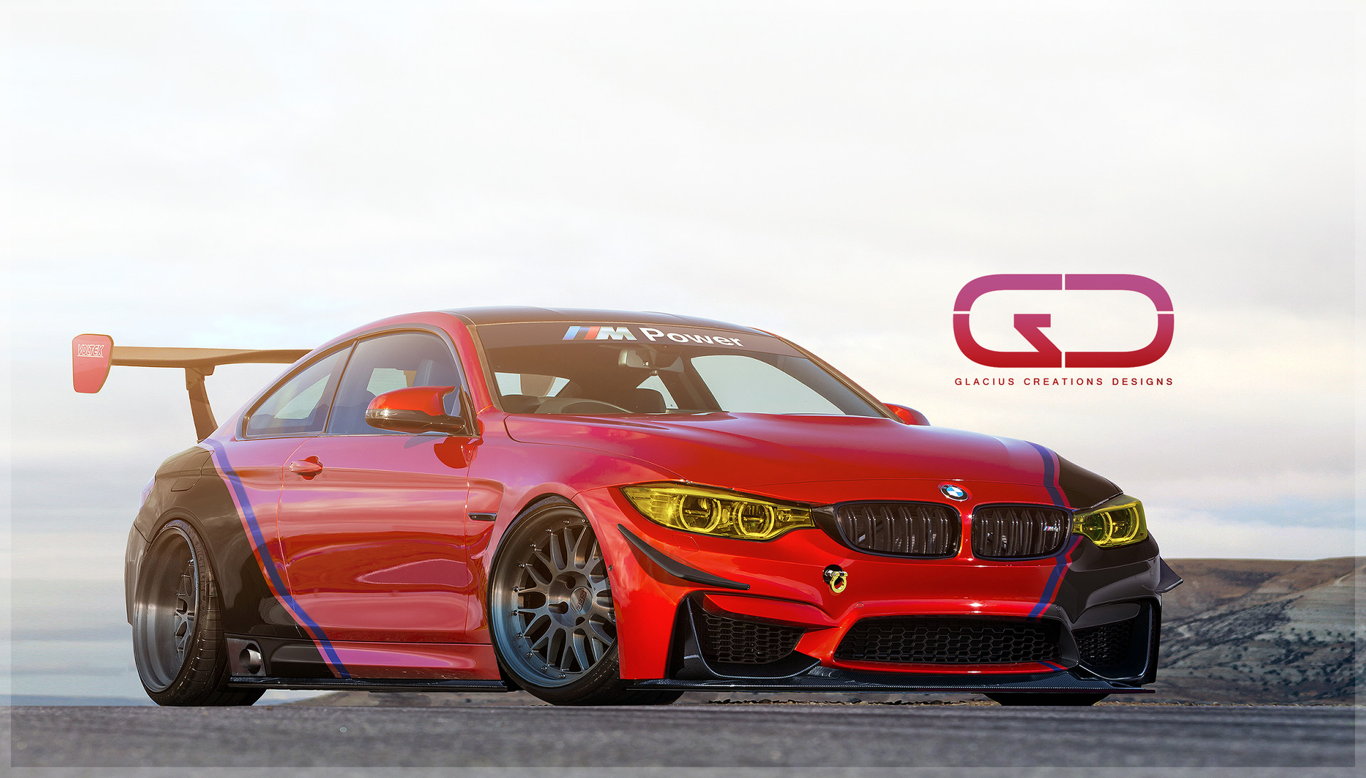 Christer Stormark Bmw M4 Race Car Street Racer Time Attack