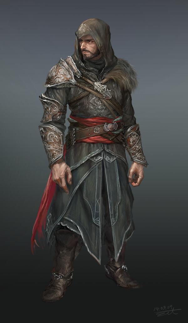 Artstation Assassin S Creed Ezio Chan Kang