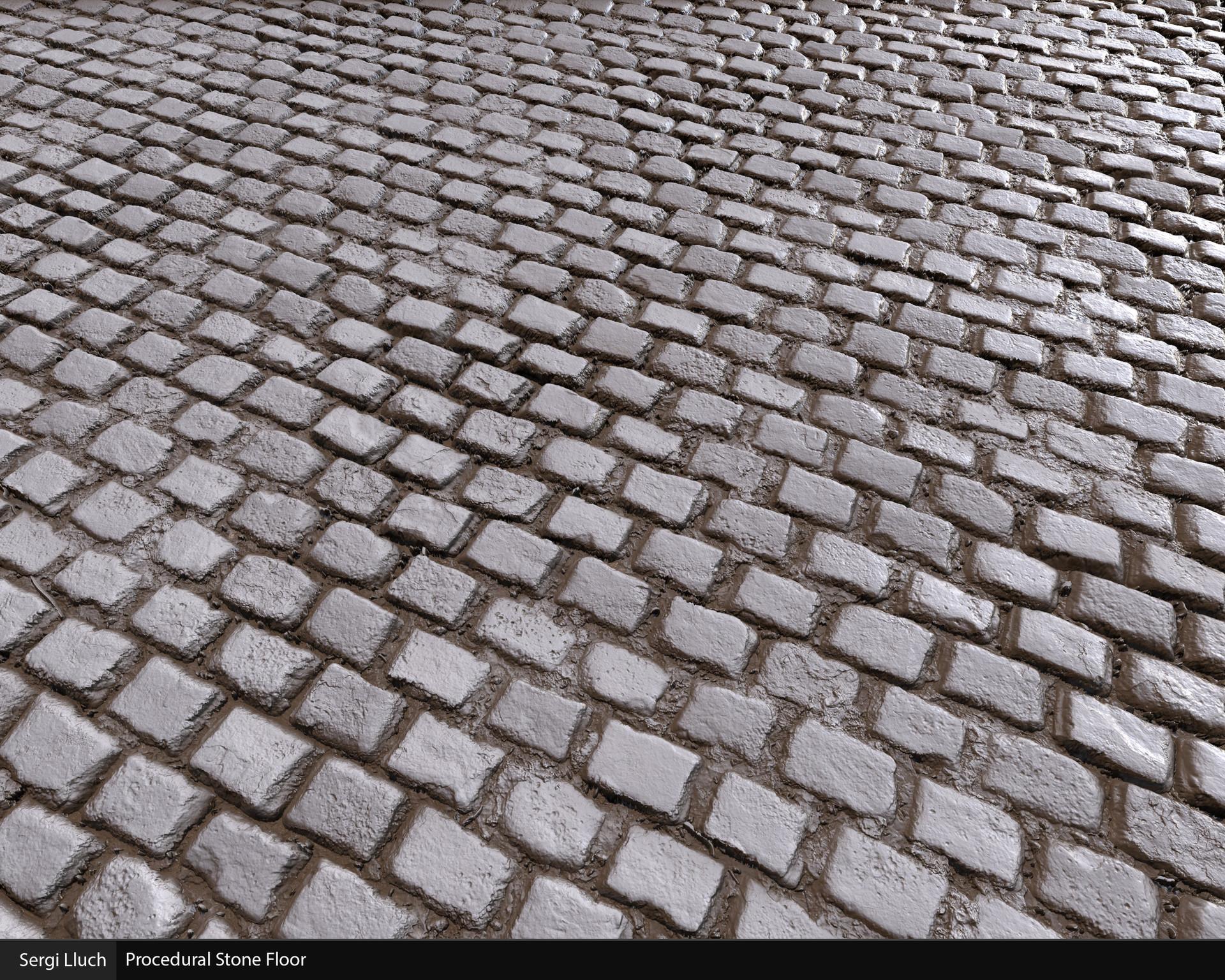 Sergi lluch stone floor render3