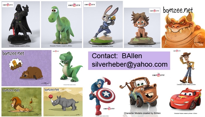character art and modeling by BAllen