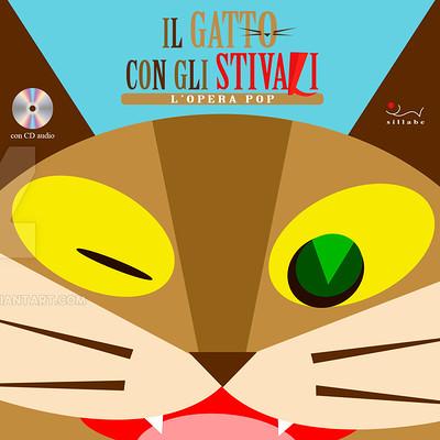 Saimon toncelli copertina gatto by artbysai d9h7gk4