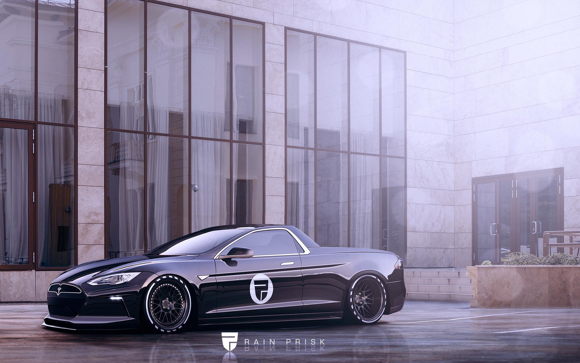 Rain Prisk Tesla Ute