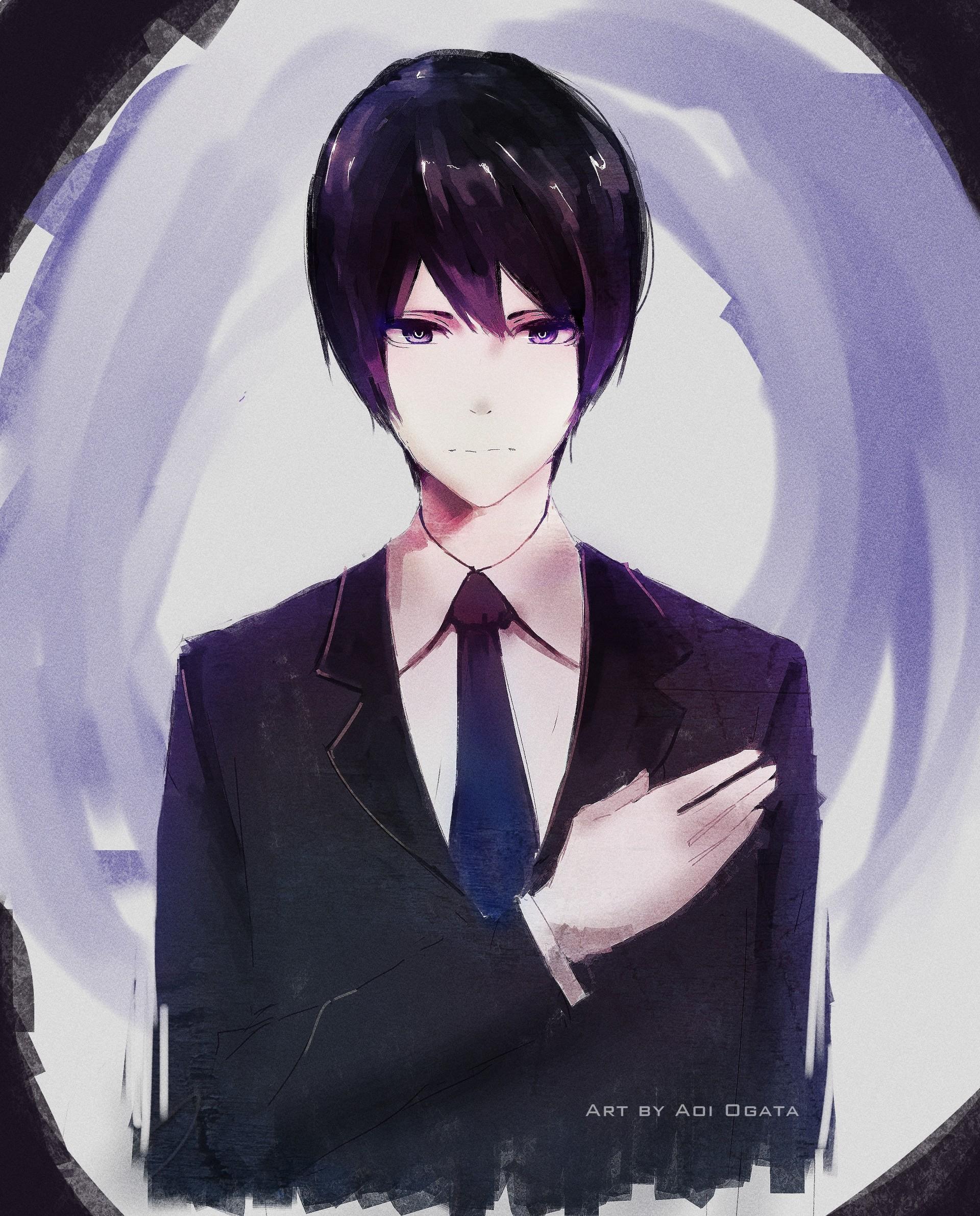 Aoi ogata suit