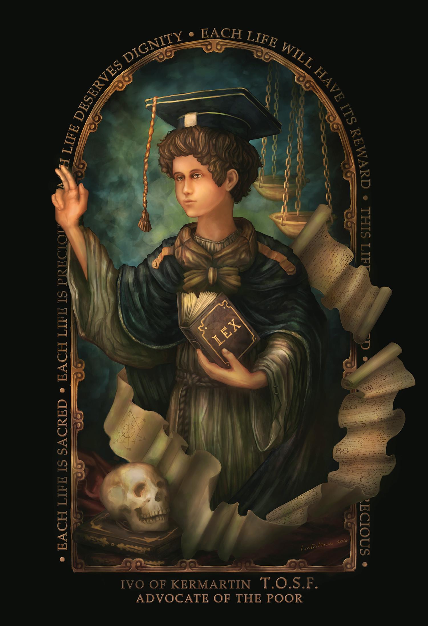 Leonardo de moura santo ivo g
