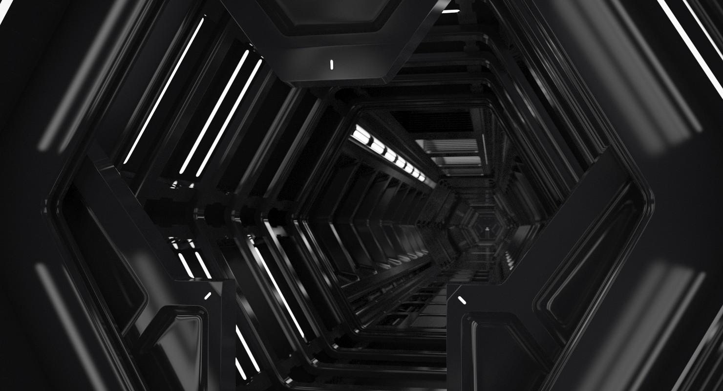 Roman Prytuliak Sci Fi Tunnel