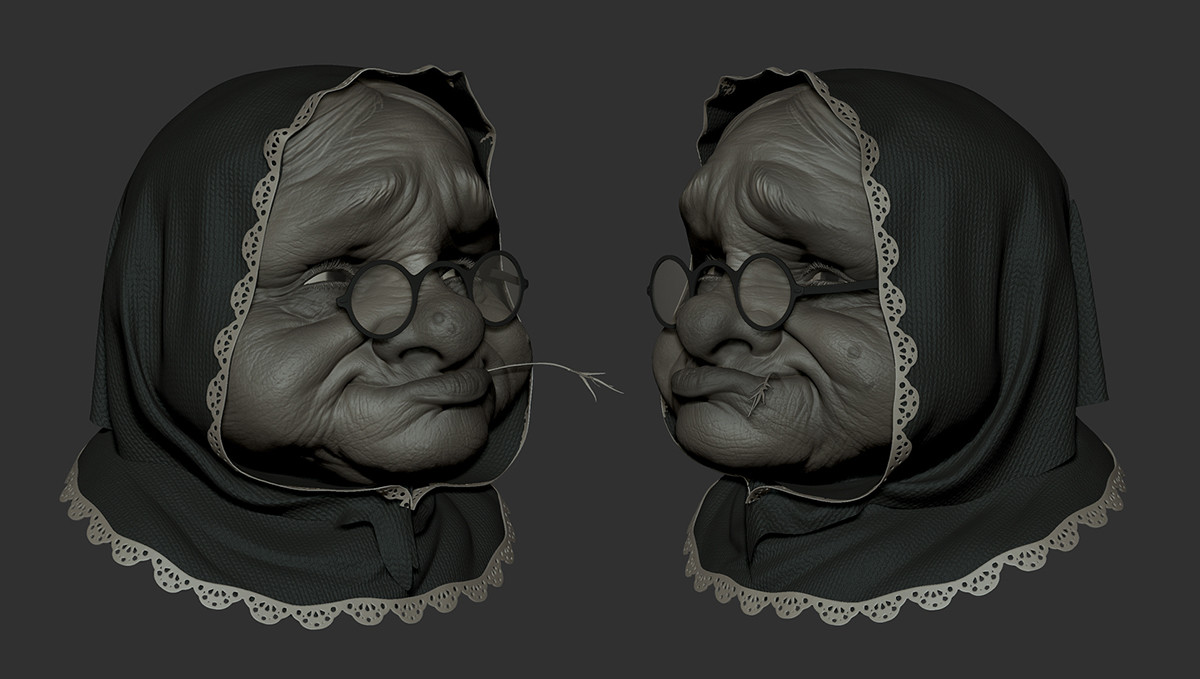 Sergio diaz granny sculpt 02 low