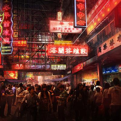 Frank hong view hongkong scene15 panorama5