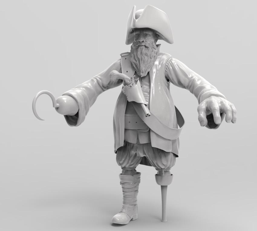 pirate work in progress