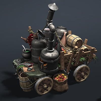 Vladimir voronov razdor mobile kitchen