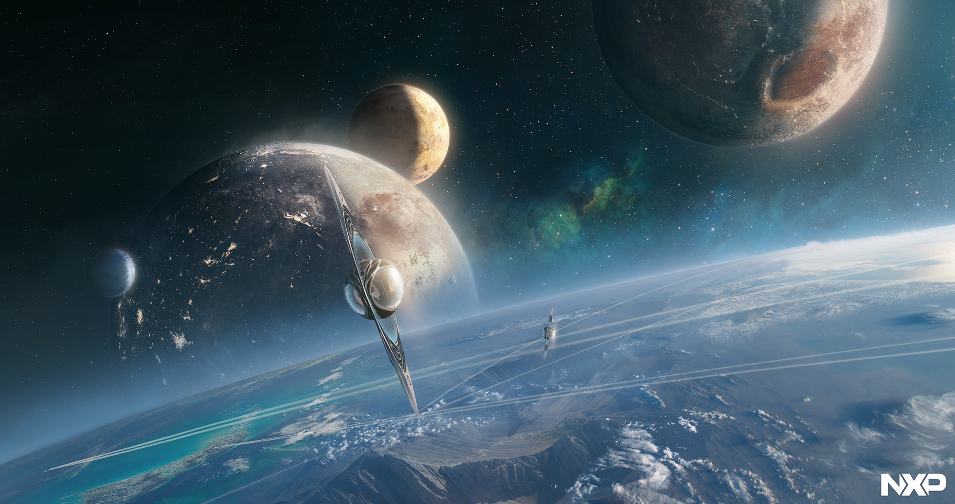 Jessica rossier matte painting projet nxp jr hd marque